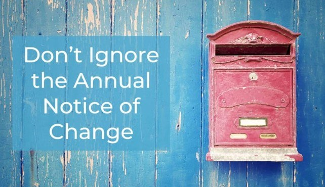 How to Use the Annual Notice of Change for Annual Enrollment